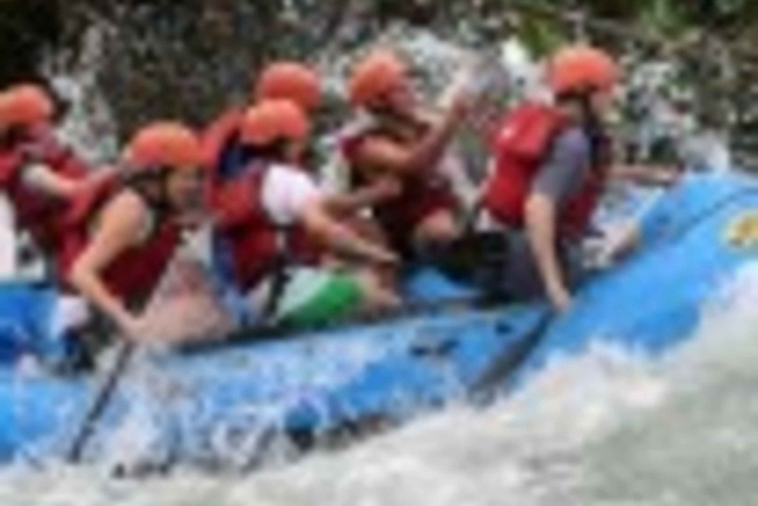 White Water Rafting on the Chirripo River
