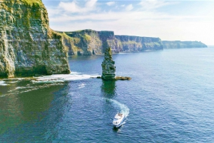 From Doolin: Inis Oirr Island & Cliffs of Moher Cruise