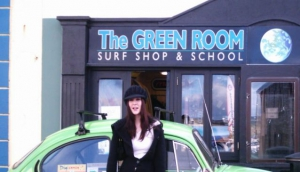 The Green Room Surf Shop and School