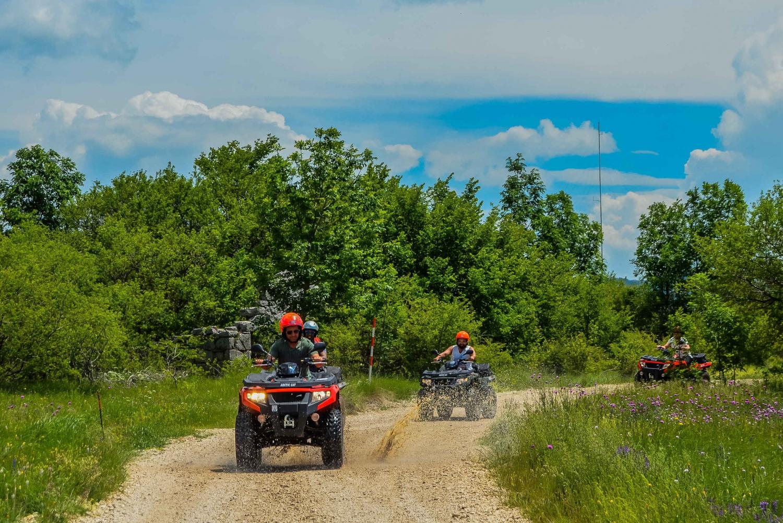 ATV Quad Bike Mountain Tour With BBQ From Split