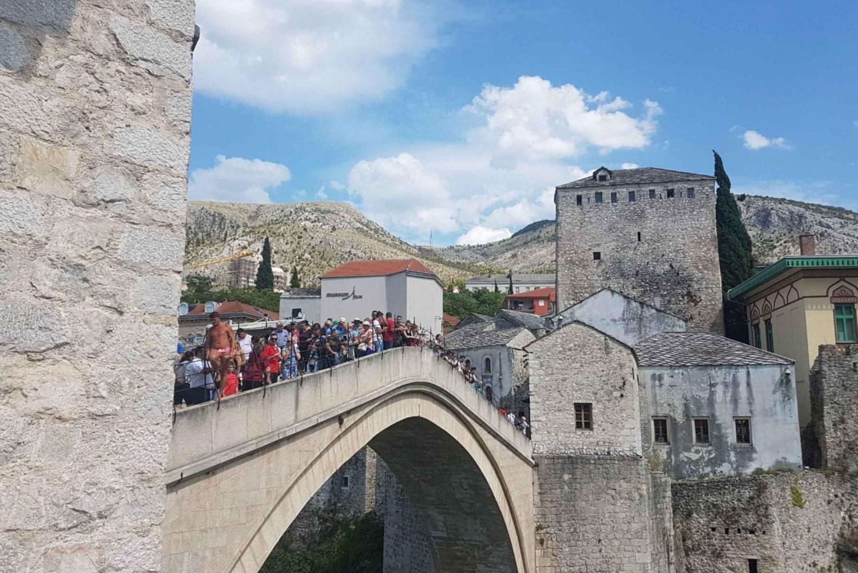 Authentic Day Trip Mostar - Kravice -Medjugorje From Split