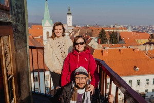 Best of Zagreb Tour including Funicular Ride