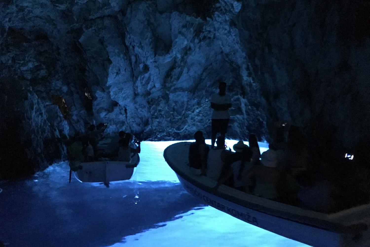 Blue and Green Caves: Full-Day Speedboat Tour from Hvar