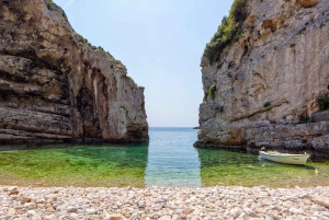 Blue Cave & 6 Island Speedboat Tour from Omis
