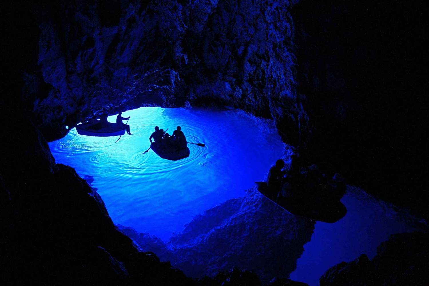Blue Cave and Hvar Island Trip from Split