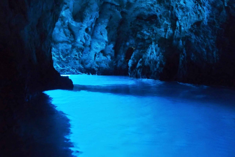 Blue Cave and Hvar Island