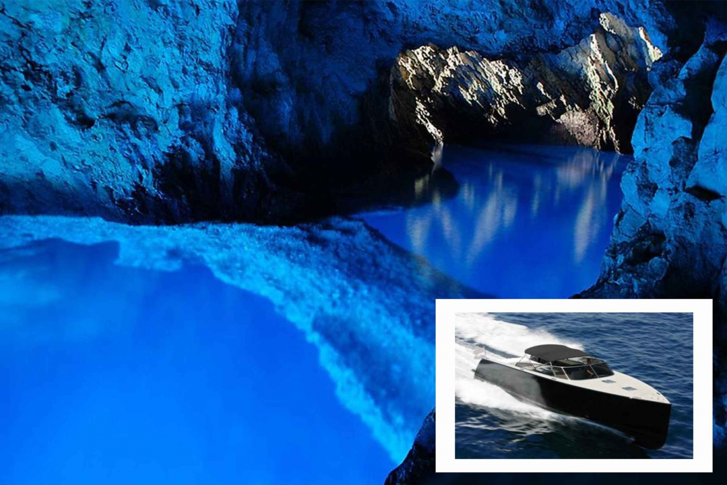Blue Cave Luxury Boat Tour: Full Day from Split