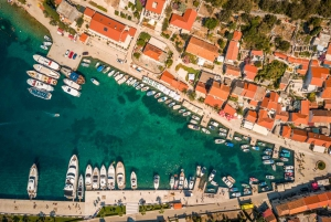 Blue Lagoon and 3 Islands Tour from Trogir or Split