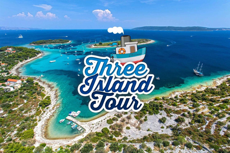 Blue Lagoon and Three Island Tour Trogir