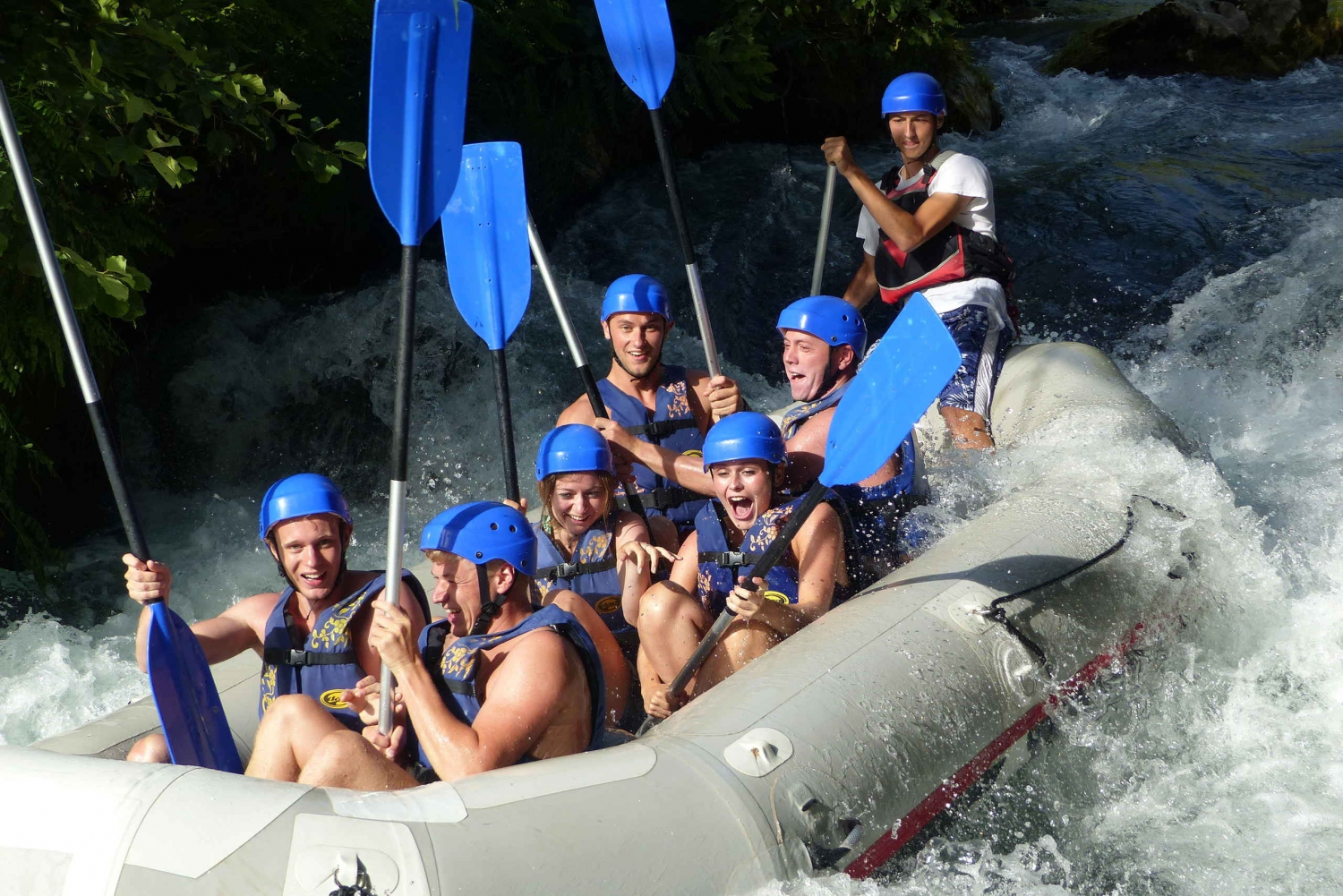 Cetina Full-Day Rafting Tour from Split or Trogir