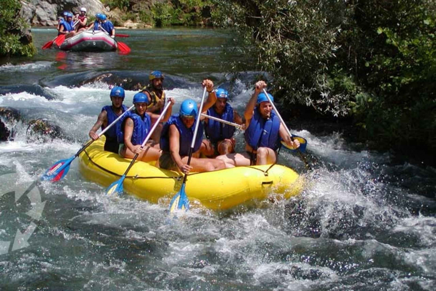 Cetina River 4-Hour Rafting Tour from Split