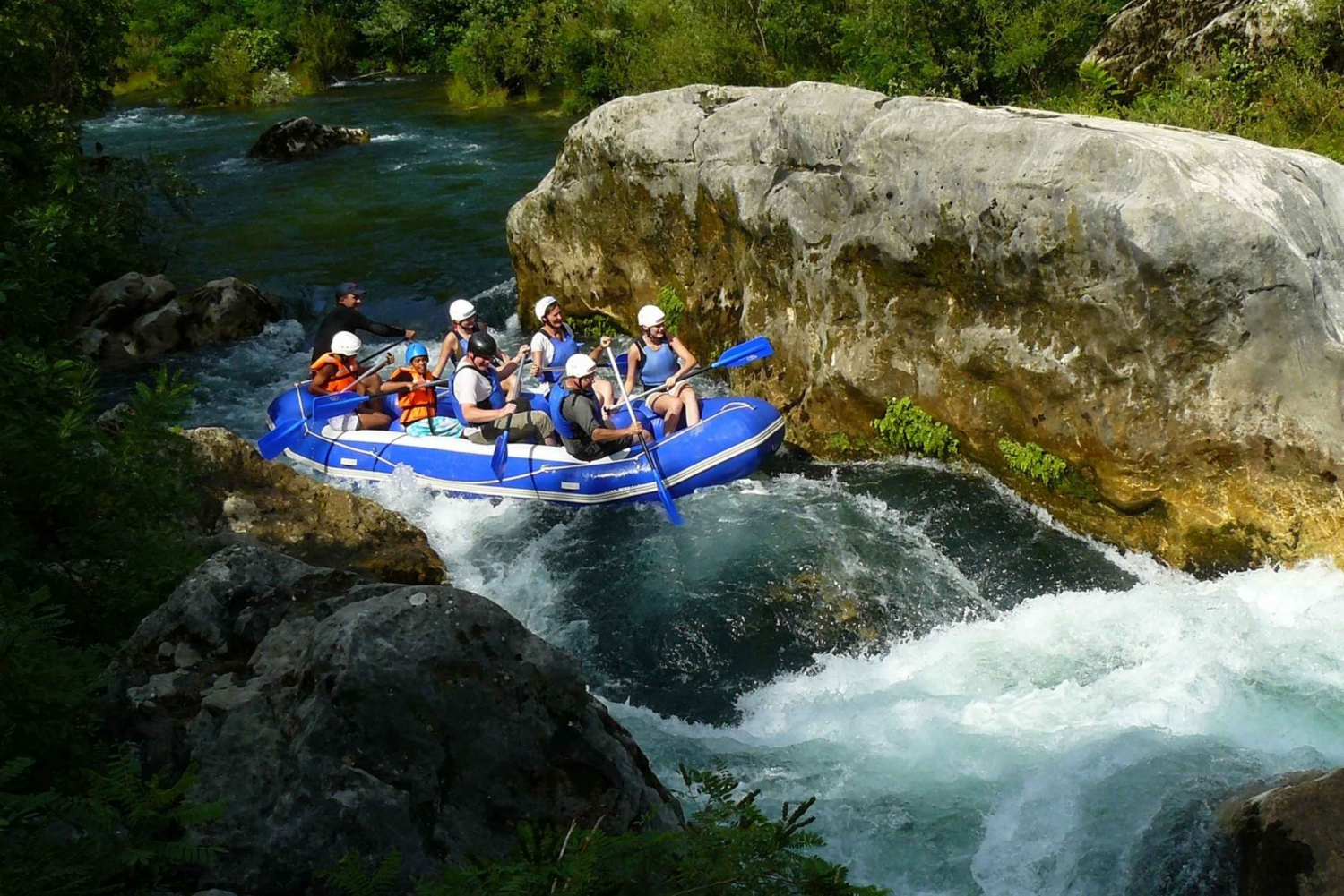 Cetina River Rafting 3-Hour Adventure