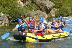 Cetina River: Rafting & Cliff Jumping Tour