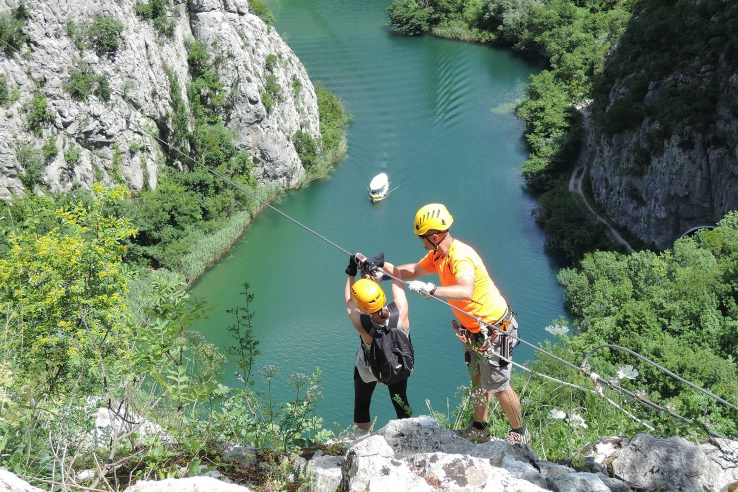 Cetina River Zipline Experience From Makarska and Split