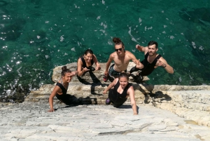 Cliff Jumping & Deep-Water Soloing Adventure Tour from Split