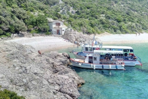 Cres: Boat Tour to the Blue Grotto, Lubenice Beach and Valun