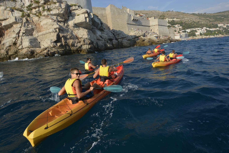 Dubrovnik: 2.5-Hour Kayaking Tour