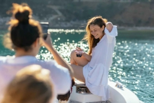 Dubrovnik: Private Boat Cruise at Sunset with Wine and Beer