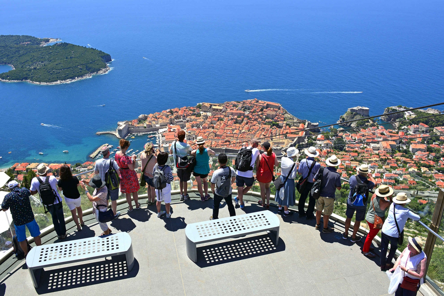 Dubrovnik: Round Trip Cable Car Ticket