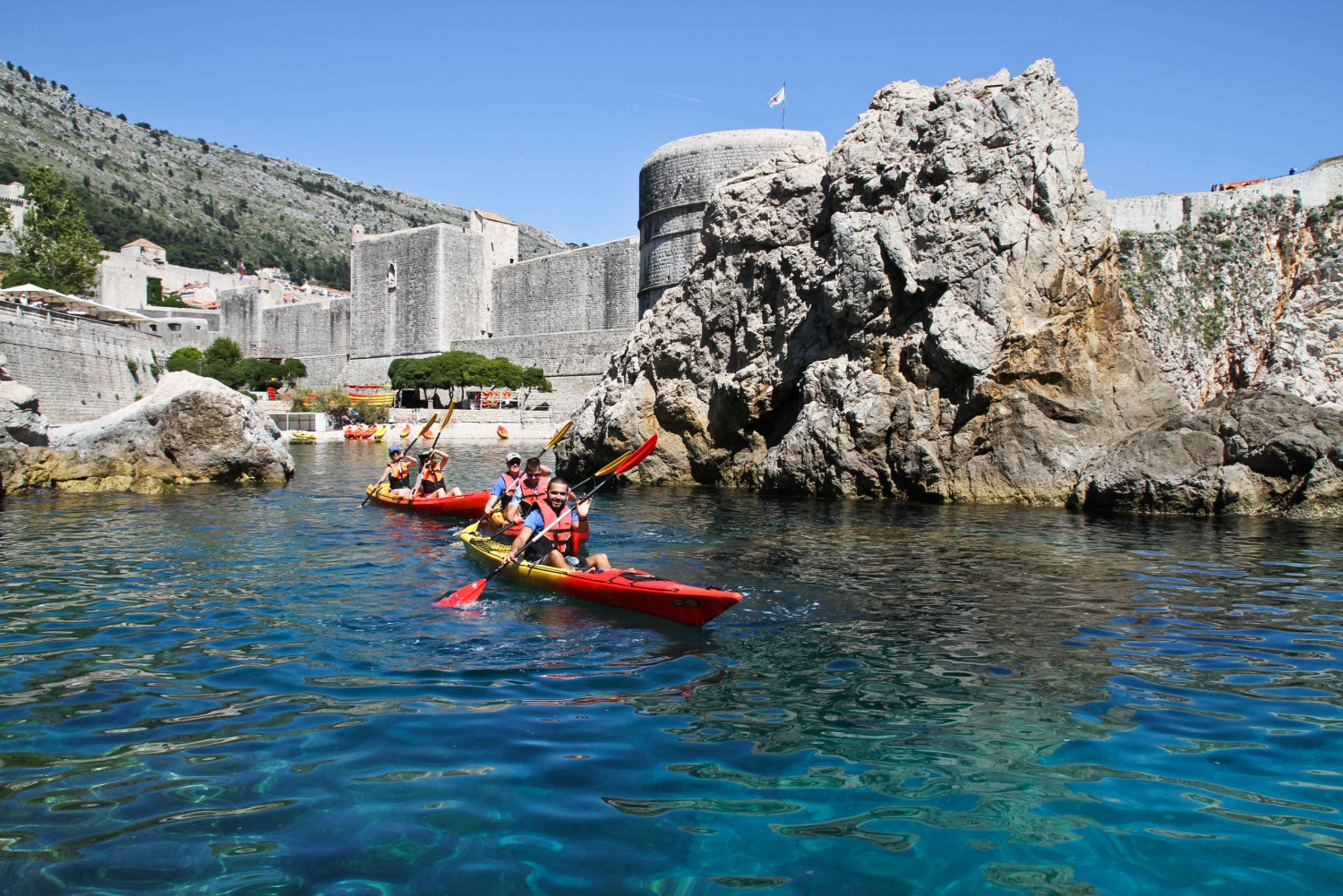 Dubrovnik: Sea Kayaking Tour