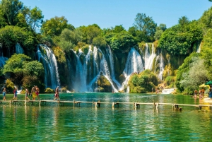 From Dubrovnik: Mostar and Kravice Waterfalls Full-Day Tour