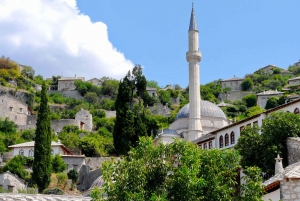From Dubrovnik: Mostar & Kravica Waterfalls Small-Group Tour