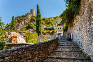 From Dubrovnik: Mostar & Kravice Waterfalls Private Tour