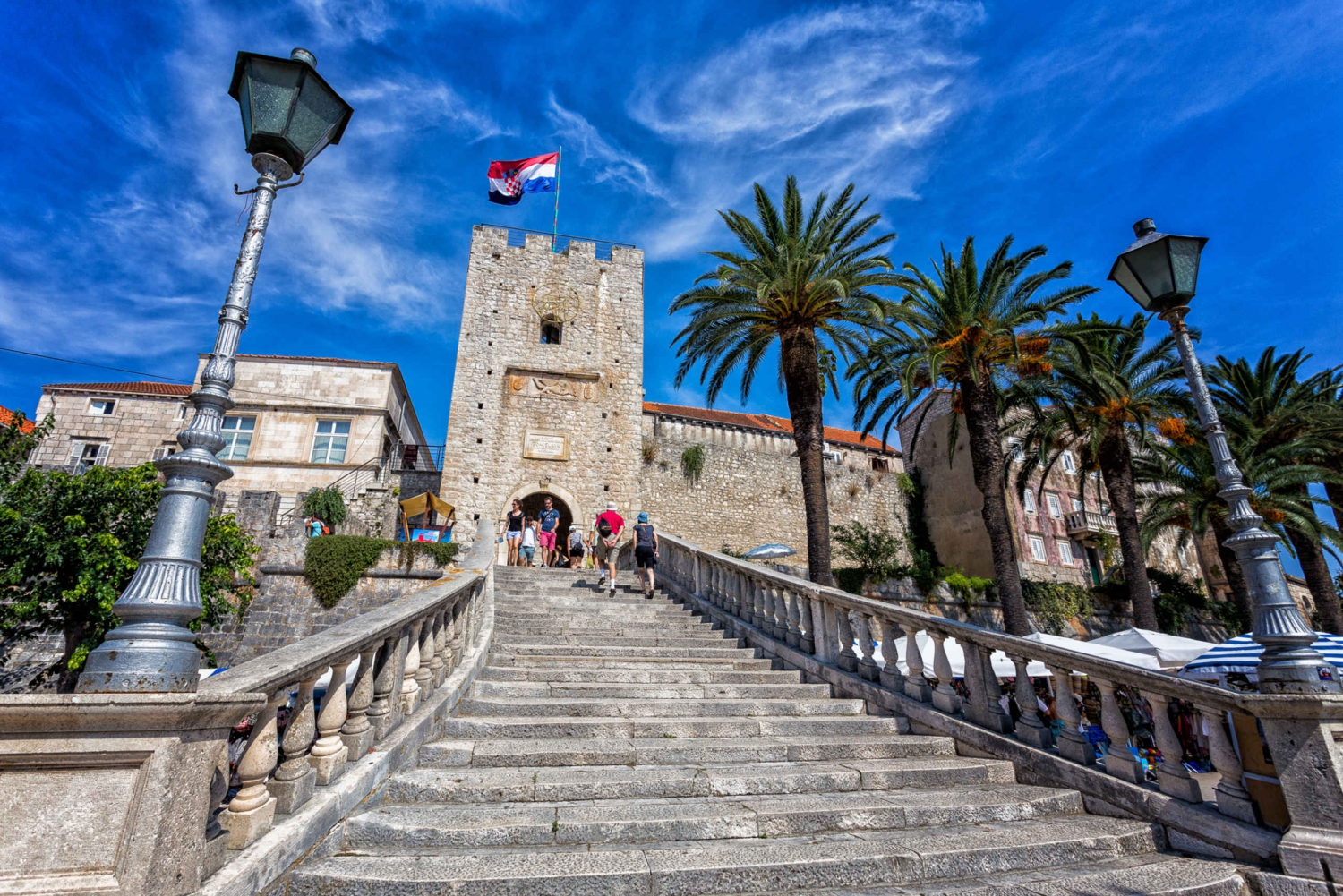 From Dubrovnik: Ston and Korčula Tour and Tastings
