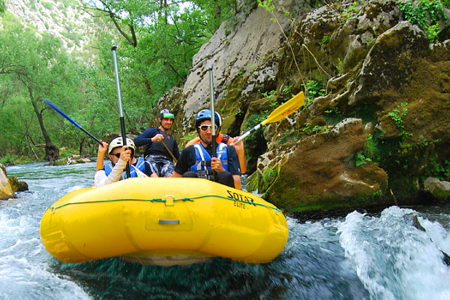 From Omiš: Half-Day Cetina River Rafting Tour