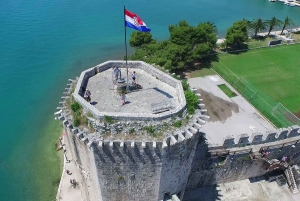 From Omiš: Krka Waterfalls and Trogir Small Group Tour