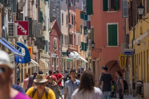 From Pula: Day Cruise to Rovinj, Lim Fjord & Red Island