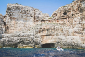 From Split: Blue Cave and 5 Islands Day Trip