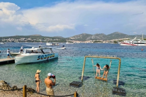 From Split: Boat Tour to the Blue Cave and Hvar