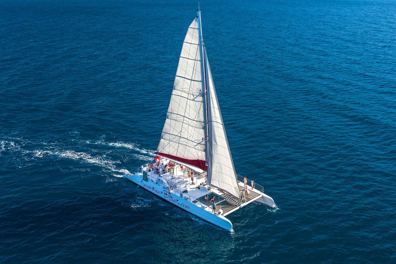 From Split: Catamaran Cruise to Brač Island
