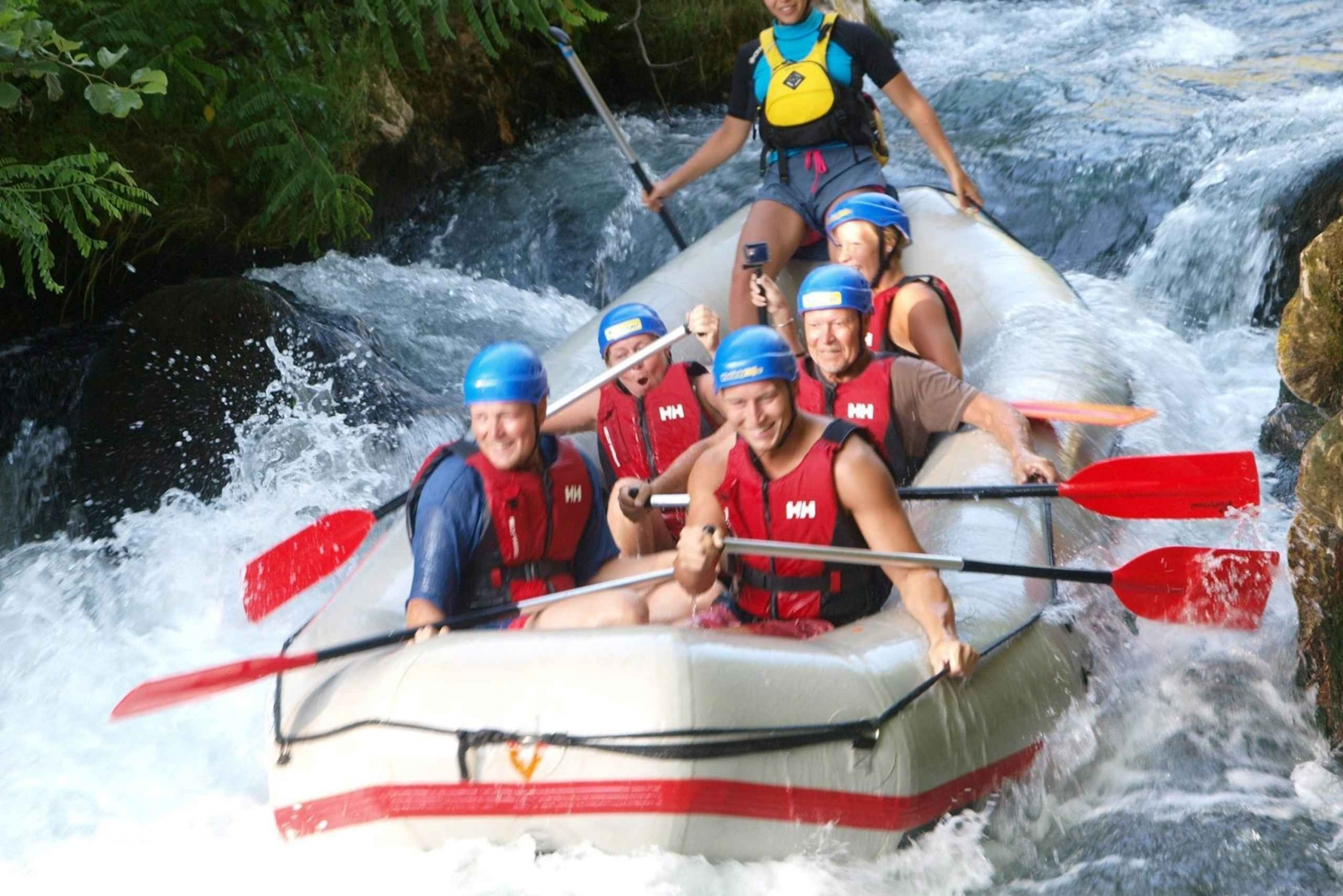 From Split: Cetina River Rafting and Local Food Tasting