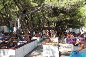 From Split: Day Cruise to Golden Horn Beach on Brač Island