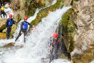 From Split: Extreme Canyoning on the Cetina River