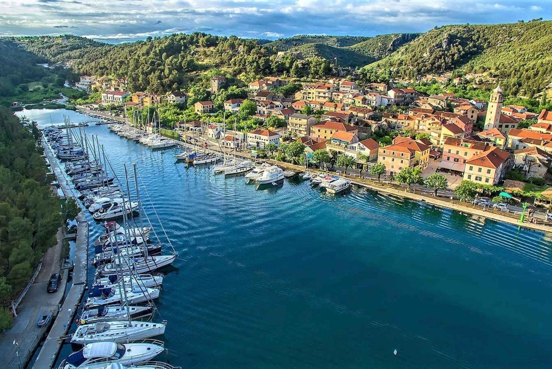 From Split: Full-Day Krka National Park and Trogir Tour