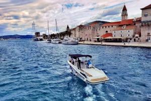 From Split: Half-Day Golden Horn Speedboat Tour