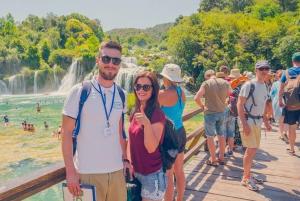 From Split: Krka Waterfalls Day Tour