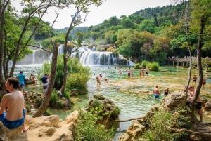 From Split or Trogir: Krka NP & Šibenik Trip