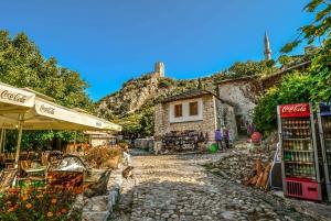 From Split or Trogir: Mostar Tour & Kravica Waterfall Entry