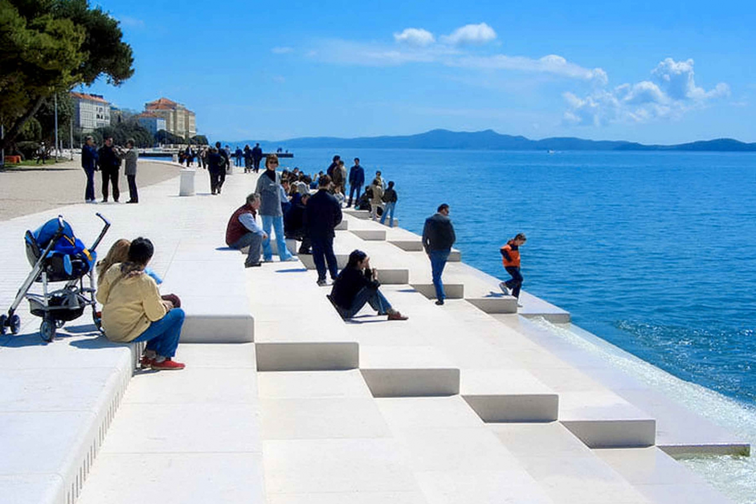 From Split or Trogir: Plitvice Lakes and Zadar Private Tour