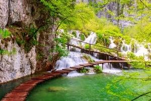 From Split or Trogir: Plitvice Lakes Full-Day Guided Tour
