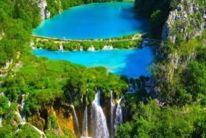 From Split or Trogir: Plitvice Lakes Private Tour