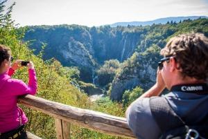 From Split or Trogir: Zagreb Transfer & Plitvice Lakes Tour