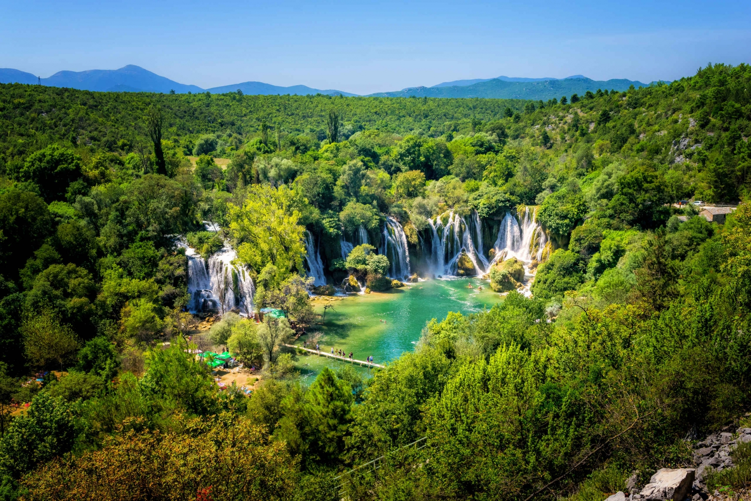 From Split: Plitvice Lakes Tour with Boat Ride and Tickets