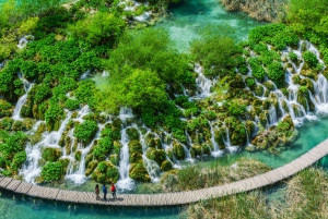 From Split: Plitvice Lakes Tour with Boat Ride