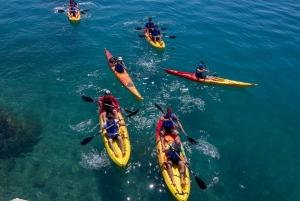 From Split: Sea Kayak &Snorkel in Podstrana Bay