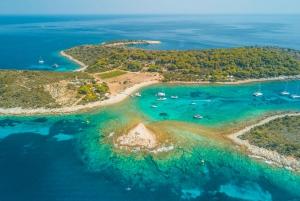 From Split & Trogir: Full-Day Private Blue Cave & Hvar Tour